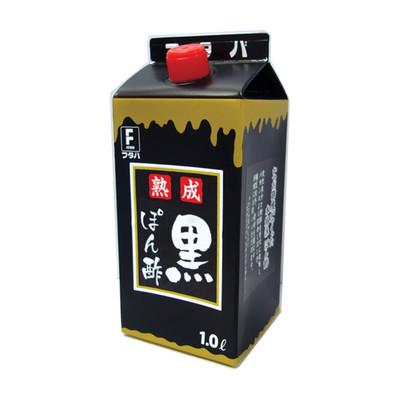 フタバ熟成黒ぽん酢 1リットル