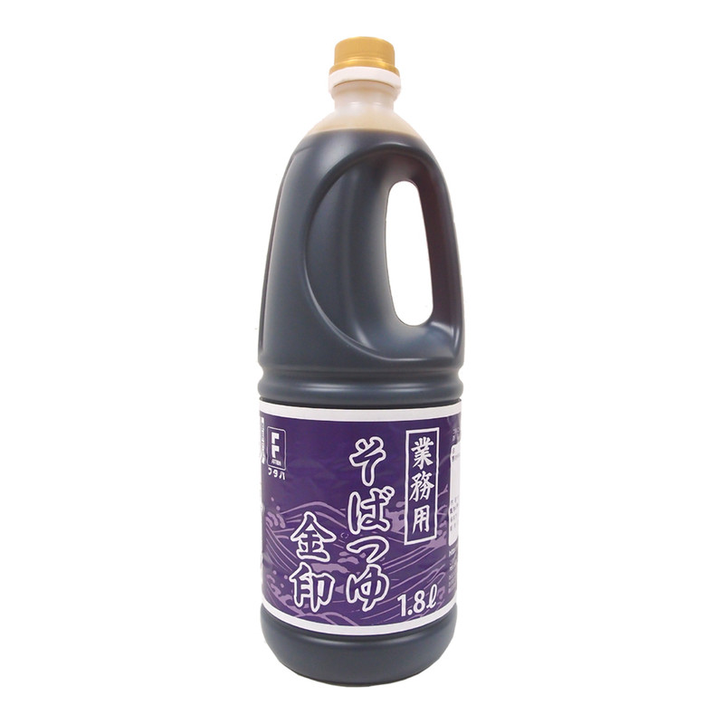 業務用そばつゆ 金印 1.8リットル
